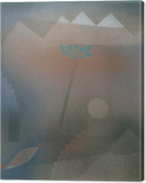 Leinwandbild Paul Klee - Abwandernder Vogel - Reproduktion