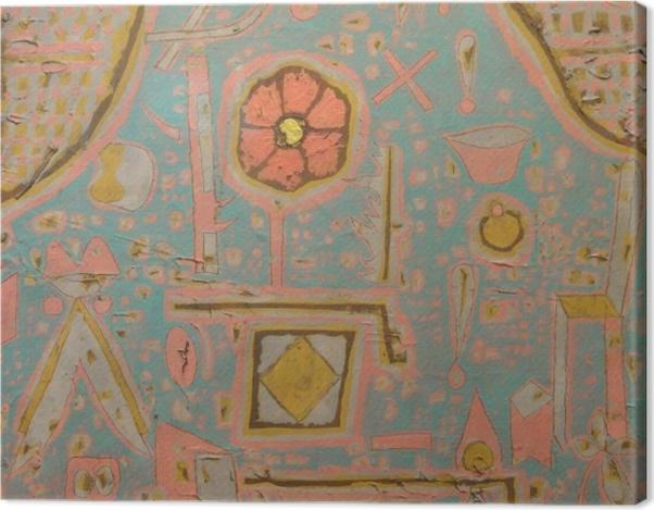 Leinwandbild Paul Klee - Blüte - Reproduktion