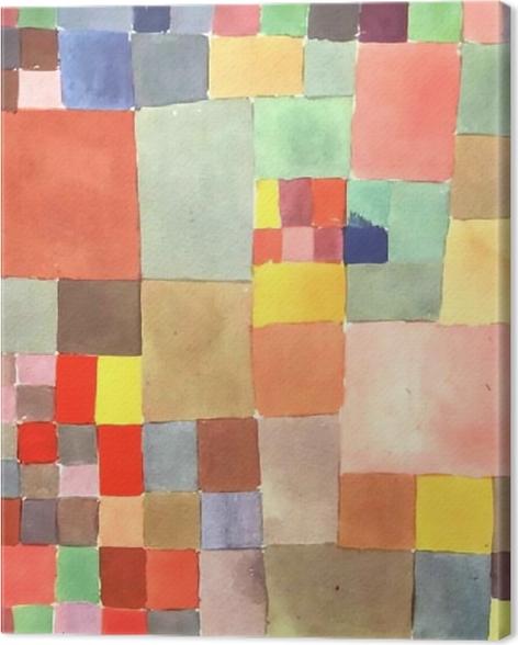 Leinwandbild Paul Klee - Flora auf Sand - Reproduktion