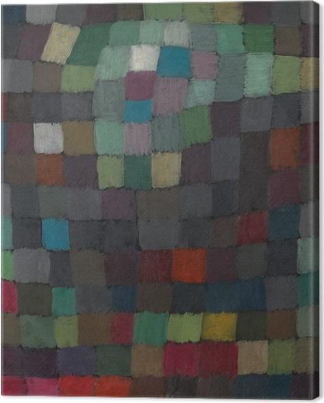 Leinwandbild Paul Klee - Polyphonie - Reproduktion