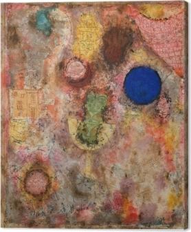 Leinwandbild Paul Klee - Zaubergarten
