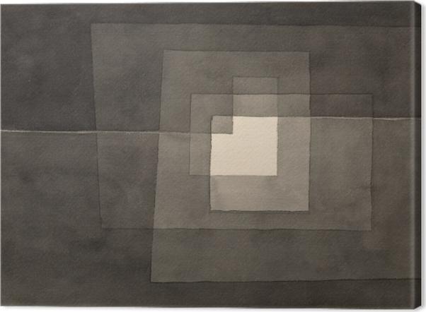 Leinwandbild Paul Klee - Zwei Gänge - Reproduktion