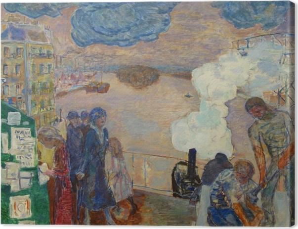 Leinwandbild Pierre Bonnard - Arbeiter - Reproductions