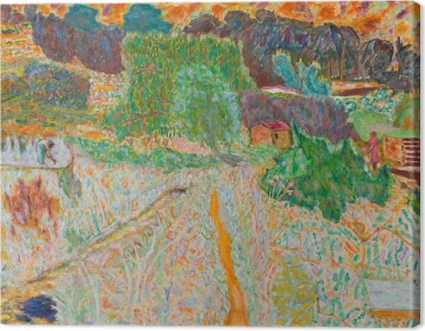 Leinwandbild Pierre Bonnard - Blick vom Atelier des Künstlers - Reproductions