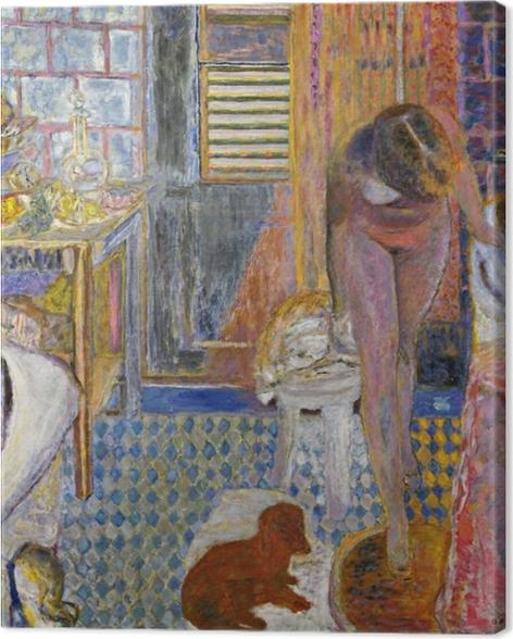 Leinwandbild Pierre Bonnard - Das Bad - Reproductions