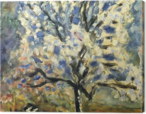 Leinwandbild Pierre Bonnard - Der Mandelbaum in der Blütezeit - Reproductions