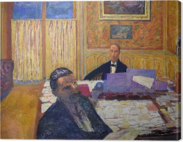 Leinwandbild Pierre Bonnard - Die Brüder Bernheim-Jeune - Reproductions