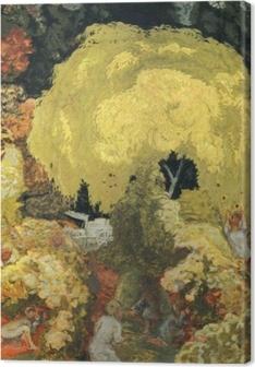 Leinwandbild Pierre Bonnard - Die Obstpflücker