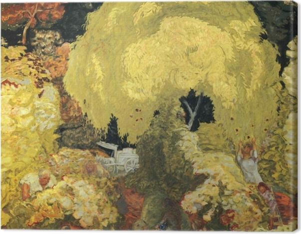 Leinwandbild Pierre Bonnard - Die Obstpflücker - Reproductions