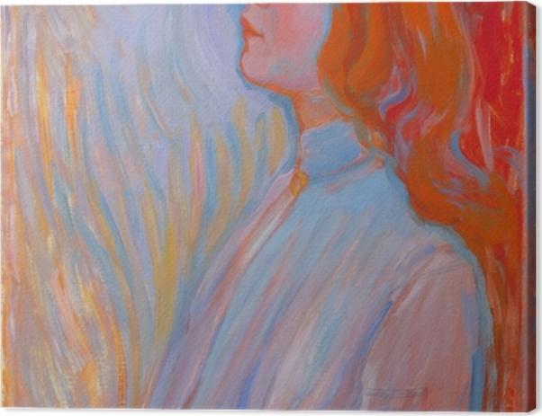 Leinwandbild Piet Mondrian - Devotion - Reproduktion