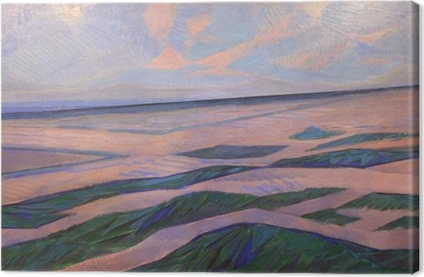 Leinwandbild Piet Mondrian - Düne - Reproduktion