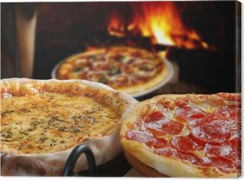 Leinwandbild Pizza