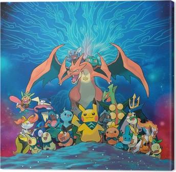 Leinwandbild Pokémon