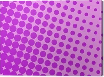 Leinwandbild Pop-Art-violett