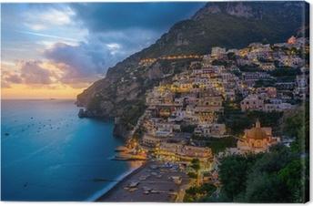Leinwandbild Positano, Amalfi Coast, Italy
