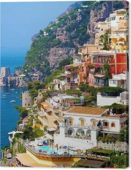 Leinwandbild Positano, Italien. Amalfiküste