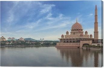 Leinwandbild Putra Moschee und Putrajaya, Malaysia