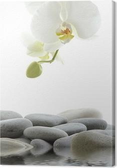 Leinwandbild Reflection for spa still life