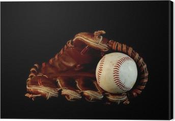 Leinwandbild Reine Baseball