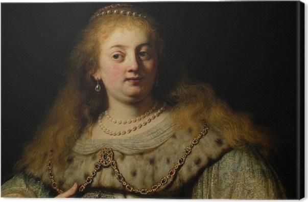 Leinwandbild Rembrandt - Artemisia - Reproduktion