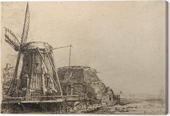 Leinwandbild Rembrandt - Die Mühle