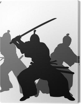 Leinwandbild Samurai