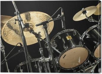 Leinwandbild Schlagzeug