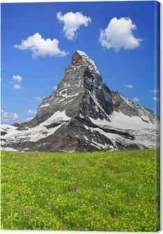 Leinwandbild Schöne Mount Matterhorn - Schweizer Alpen