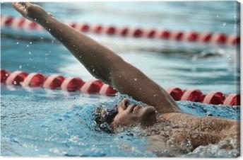 Leinwandbild Schwimmen - Sport