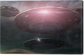 Leinwandbild SCIFI UFO