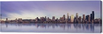 Leinwandbild Seattle panorama