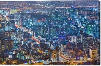 Leinwandbild Seoul, Südkorea Stadtbild