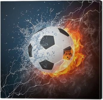 Leinwandbild Soccerball