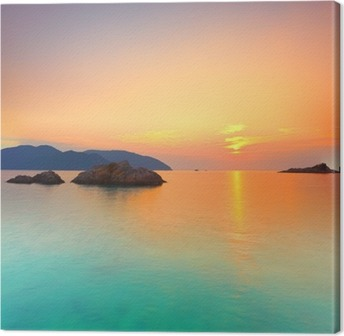 Leinwandbild Sonnenaufgang