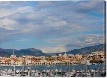 Leinwandbild Split Panorama