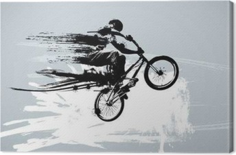 Leinwandbild Sport Vektor-Illustration