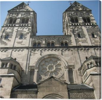 Leinwandbild St. Josef-Kirche in Düsseldorf-Rath