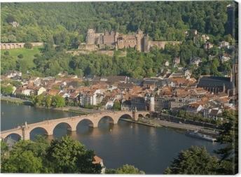 Leinwandbild Stadt Heidelberg
