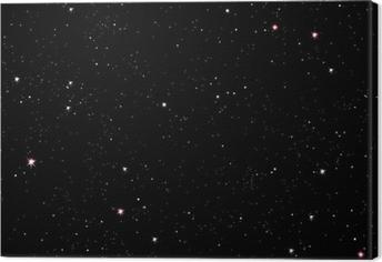 Leinwandbild Starry night