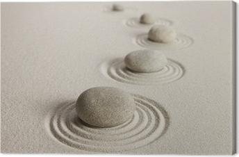 Leinwandbild Steine