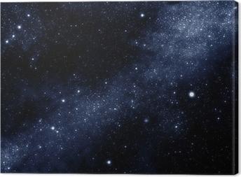 Leinwandbild Sternenfeld