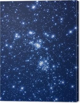 Leinwandbild Sternhaufen