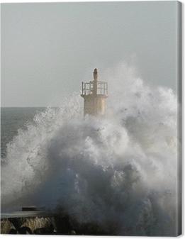 Leinwandbild Stormy Welle