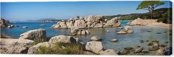Leinwandbild Strand von Palombaggia, Korsika