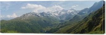 Leinwandbild Südtirol Alpen