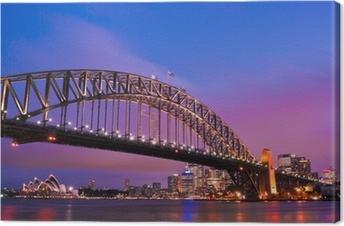 Leinwandbild Sydney Habour Bridge - Sydney City