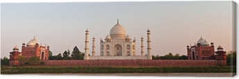 Leinwandbild Taj Mahal, Agra