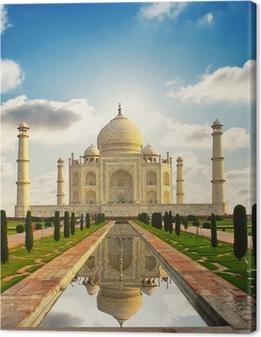 Leinwandbild Taj Mahal in Indien