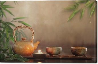 Leinwandbild Tee