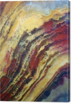 Leinwandbild Textur der Edelstein Onyx